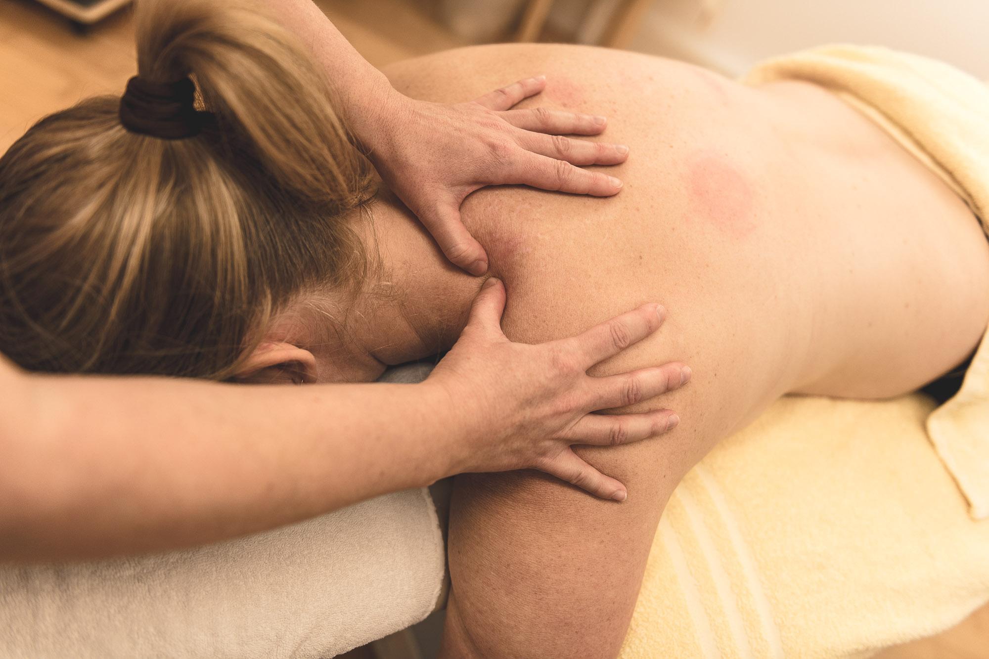Triggerpunkt-Therapie Schultern