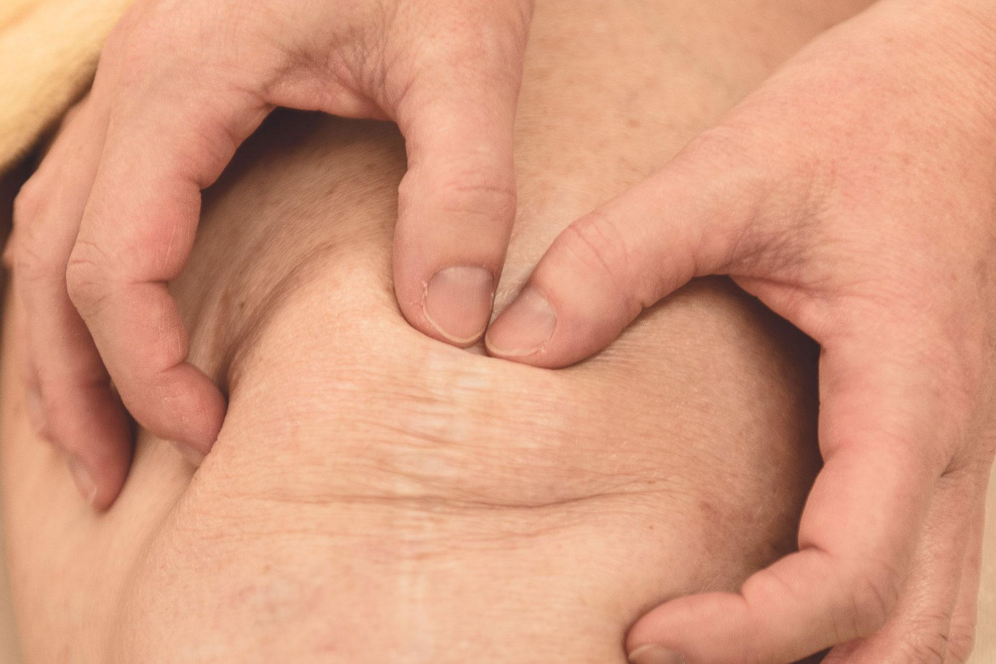 Triggerpunkt-Therapie Knie